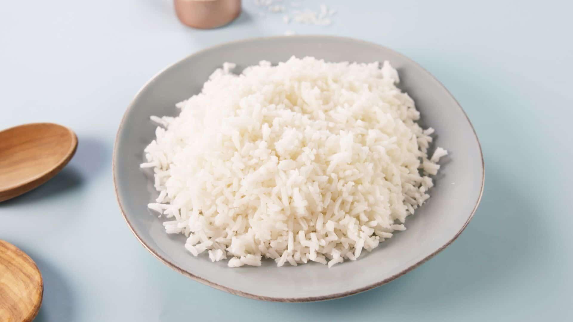 Рис в стакане